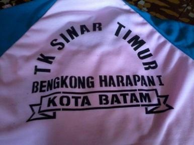 Bikin baju olahraga TK